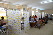 One of the maternity wards in Mulago Hospital, Uganda.