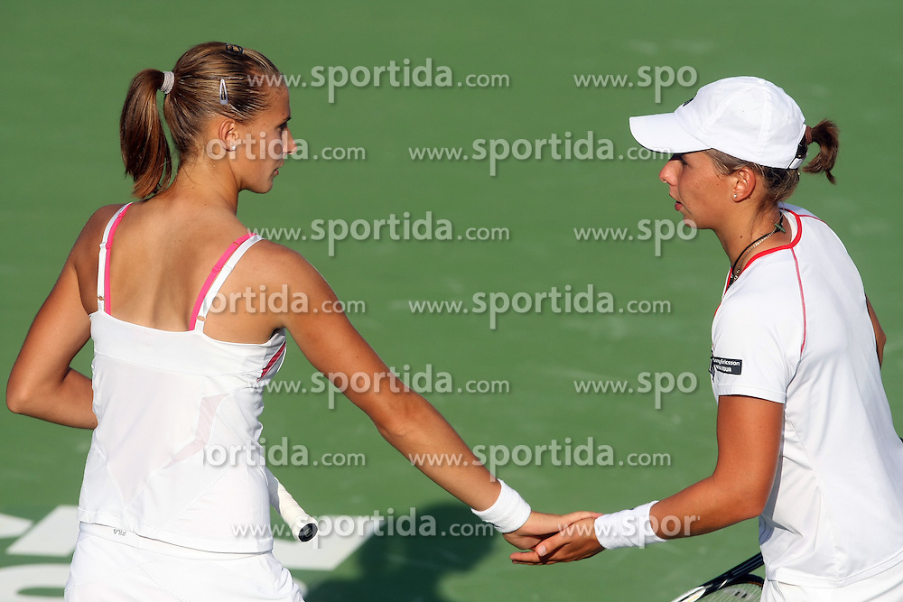 Polona Hercog of Slovenia at 3rd Round of Banka Koper Slovenia Open 2008, on July 23, 2008, Portoroz - Portorose, Slovenia. (Photo by Vid Ponikvar / Sportal Images)...