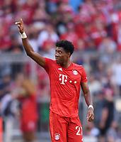 Fussball  1. Bundesliga  Saison 2019/2020  3. Spieltag  FC Bayern Muenchen - 1. FSV Mainz 05         31.08.2019 Jubel FC Bayern Muenchen; Torschutze zum 2-1 David Alaba