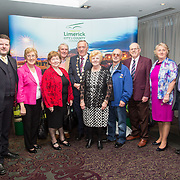 10.10. 2017.          <br /> Pictured at the Limerick Going for Gold 2017 finals in the Strand Hotel were, Mayor of the City and County of Limerick Cllr Stephen Keary with members of the Abbeyfeale Tidy Towns.<br /> <br /> <br /> Limerick Going for Gold, which is sponsored by the JP McManus Charitable Foundation, has a total prize pool of over €75,000.  It is organised by Limerick City and County Council and supported by Limerick's Live 95FM, The Limerick Leader and The Limerick Chronicle, The Limerick Post, Parkway Shopping Centre, I Love Limerick and Southern Marketing Media & Design. Picture: Alan Place