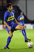Fotball<br />22/10/03 - BOCA JUNIORS FROM ARGENTINA (0) VS. ATLETICO NACIONAL FROM COLOMBIA (1) - SOUTH AMERICAN CUP - Buenos Aires - Argentina.<br />CANGELE<br />Foto: Digitalsport