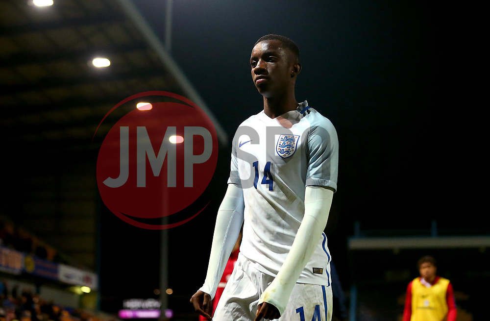 Edward Nketiah of England Under 19's - Mandatory by-line: Robbie Stephenson/JMP - 05/09/2017 - FOOTBALL - One Call Stadium - Mansfield, United Kingdom - England U19 v Germany U19 - International Friendly