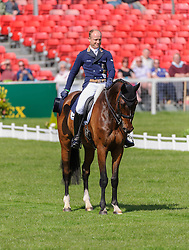 World Champion Michael Jung and LEOPIN FST - The Dressage phase of the Mitsubishi Motors Badminton Horse Trials, Friday May 3rd 2013, UK. Photo by: Nico Morgan / i-Images