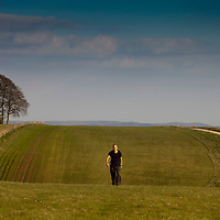April 2011 - Wiltshire - Tne Great Stones Way with words by Chris Hatherill and Pics by Steve Morgan - Salisbury Plain