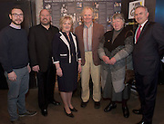 09/01/2017 John Caulfield, Galway Music CentreFrank Naughton, Tenor, Mary Dooley, Chair, Galway Music Centre, Brendan O'Connor, Cois Cladaigh Chamber Choir, Carmel Garrett, Galway Music Centre Board of Directors in the Mick Lally Theatre , Druid for the launch of the Galway Music Centre. Photo: Andrew Downes,  xposure