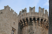 Greece, Rhodes, Rhodes City, The old town of Rhodes, Palace of the Grand Master