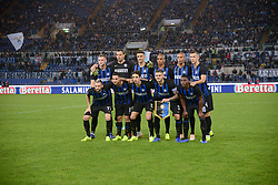 October 29, 2018 - Italy - FC Inter players before the Italian Serie A football match between S.S. Lazio and Inter at the Olympic Stadium in Rome, on october 29, 2018. (Credit Image: © Silvia Lor/Pacific Press via ZUMA Wire)