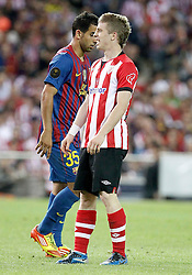 25.05.2012, Vicente Calderon Stadion, Madrid, ESP, Kings Cup Finale, FC Barcelona vs Athletic Bilbao, im Bild Athletic de Bilbao's Iker Muniain dejected // during the Spanish Kings Cup final match between Fc Barcelona and Athletic Bilbao at the Vicente Calderon Stadium, Madrid, Spain on 2012/05/25. EXPA Pictures © 2012, PhotoCredit: EXPA/ Alterphotos/ Alvaro Hernandez..***** ATTENTION - OUT OF ESP and SUI *****