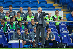 CARDIFF, WALES - Wednesday, August 17, 2016: Cardiff City's manager Paul Trollope during the Football League Championship match against Blackburn Rovers at Cardiff City Stadium. (Pic by David Rawcliffe/Propaganda)