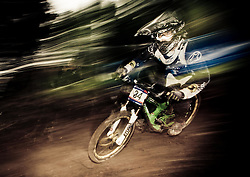 12.06.2011, Bikepark, Leogang, AUT, UCI MOUNTAINBIKE WORLDCUP, LEOGANG, im Bild Downhill Worldcup Feature, BILD BEARBEITET! // during the UCI MOUNTAINBIKE DOWNHILL WORLDCUP, LEOGANG, AUSTRIA, 2011-06-12, EXPA Pictures © 2011, PhotoCredit: EXPA/ J. Feichter