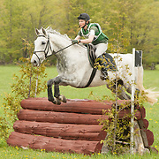 Sarah Roberts and Sullivan at Checkmate Horse Trials in Feversham, Ontario.