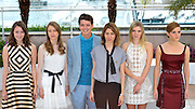 16.MAY.2013. CANNES<br /> <br /> KATIE CHANG, TA&Ocirc;SSA FARIGA, ISRAEL BROUSSARD, CLAIRE JULIEN AND EMMA WATSON ATTEND THE BLING RING PHOTOCALL DURING THE 66TH ANNUAL CANNES FILM FESTIVAL AT THE RIVIERA TERACE ON MAY 16, 2013 IN CANNES, FRANCE.<br /> <br /> <br /> BYLINE: EDBIMAGEARCHIVE.CO.UK/CHRISTIAN ALMINANA/INSIGHTMEDIA<br /> <br /> *THIS IMAGE IS STRICTLY FOR UK NEWSPAPERS AND MAGAZINES ONLY*<br /> *FOR WORLD WIDE SALES AND WEB USE PLEASE CONTACT EDBIMAGEARCHIVE - 0208 954 5968*