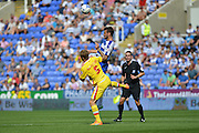 MK Dons Kyle McFadzean during the Sky Bet Championship match between Reading and Milton Keynes Dons at the Madejski Stadium, Reading, England on 22 August 2015. Photo by Mark Davies.