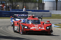 March 14, 2019 - Sebring, Etats Unis - 31 WHELEN ENGINEERING RACING (USA) CADILLAC DPI CADILLAC FELIPE NASR (BRA) ERIC CURRAN (USA) PIPO DERANI  (Credit Image: © Panoramic via ZUMA Press)