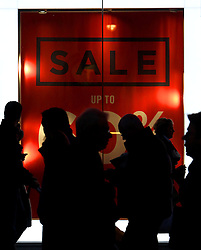 © Licenced to London News Pictures. 20/11/2013. London. UK.  <br /> General view of shoppers pictured on Oxford Street in London, December 20th 2013. Millions of shoppers are expected to take advantage of pre-Christmas sales this weekend on 'Panic Saturday'.<br /> Photo Credit: Susannah Ireland