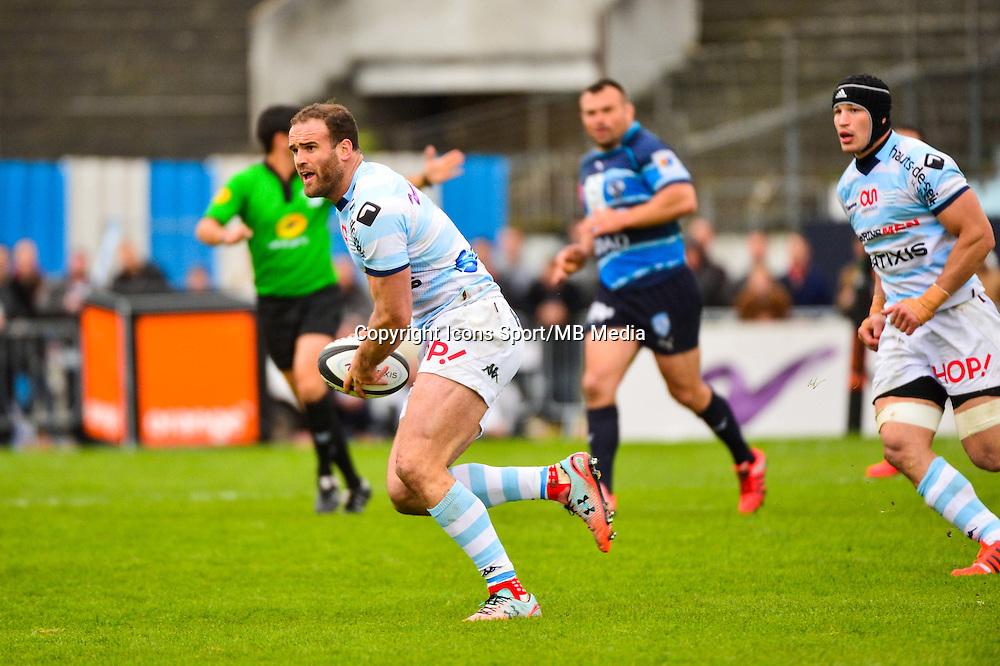 Jamie ROBERTS  - 11.04.2015 - Racing Metro / Montpellier  - 22eme journee de Top 14 <br />Photo : Dave Winter / Icon Sport