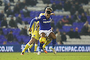 Birmingham's David Davis during the Sky Bet Championship match between Birmingham City and Millwall at St Andrews, Birmingham, England on 10 February 2015. Photo by Shane Healey.