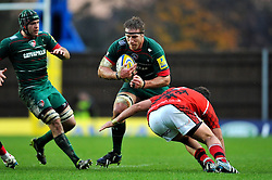 Brad Thorn of Leicester Tigers - Photo mandatory by-line: Patrick Khachfe/JMP - Mobile: 07966 386802 23/11/2014 - SPORT - RUGBY UNION - Oxford - Kassam Stadium - London Welsh v Leicester Tigers - Aviva Premiership