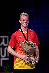 DK:<br /> 20190209, &Aring;rhus, Danmark:<br /> Badminton Danmark FZ Forza/RSL DM 2019. <br /> Here single: Steffen Rasmussen vs. Anders Antonsen. S&oslash;lvvinder Steffen Rasmussen<br /> Foto: Lars M&oslash;ller<br /> UK: <br /> 20190209, Aarhus, Denmark:<br /> Badminton Danmark FZ Forza/RSL DM 2019.<br /> Here single: Steffen Rasmussen vs. Anders Antonsen. S&oslash;lvvinder Steffen Rasmussen<br /> Photo: Lars Moeller