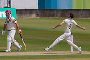 Graham Onions (Durham County Cricket Club) bowling during the LV County Championship Div 1 match between Durham County Cricket Club and Somerset County Cricket Club at the Emirates Durham ICG Ground, Chester-le-Street, United Kingdom on 9 June 2015. Photo by George Ledger.