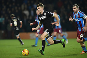 *Max Power of Wigan Athletic during the Sky Bet League 1 match between Scunthorpe United and Wigan Athletic at Glanford Park, Scunthorpe, England on 2 January 2016. Photo by Ian Lyall.