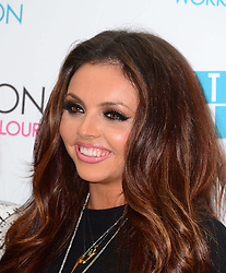 In the image - Jesy Nelson.<br /> British Girl band Little Mix at the launch of their new makeup range in London, Tuesday, 24th September 2013. Picture by Nils Jorgensen / i-Images