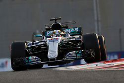 November 24, 2017 - Abu Dhabi, United Arab Emirates - Motorsports: FIA Formula One World Championship 2017, Grand Prix of Abu Dhabi, .#44 Lewis Hamilton (GBR, Mercedes AMG Petronas F1 Team) (Credit Image: © Hoch Zwei via ZUMA Wire)