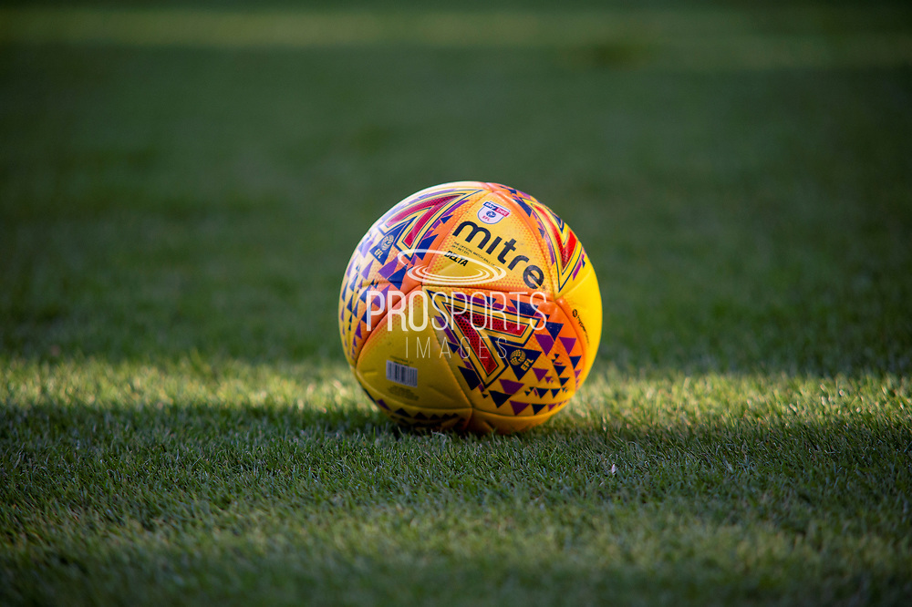Official EFL championship mitre match ball during the EFL Sky Bet Championship match between Sheffield Wednesday and Reading at Hillsborough, Sheffield, England on 9 February 2019.