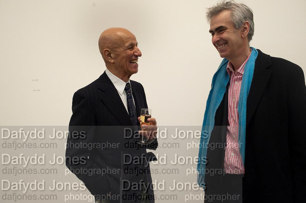 ALEX KATZ; MARTIN GAYFORD, Alex Katz opening. Timothy Taylor gallery. London. 3 March 2010.