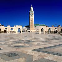 Hassan II Mosque, Casablanca, Morocco.