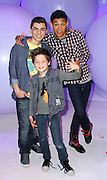 Adam Irigoyen, Roshon Fegan and Davis Cleveland attend the Disney Kids and Family Upfront 2011-12 at Gotham Hall in New York City on March 16, 2011.