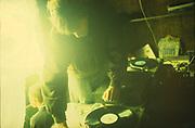 Digs DJ, Glastonbury, 1994.