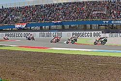 16.04.2016, TT Circuit, Assen, NED, MOTUL FIM Superbike World Championship, Assen, im Bild #1 Jonathan Rea ( GBR ) Kawasaki,#66 Tom Sykes ( GBR ) Kawasaki,# 7 Chaz Davies ( GBR ) Ducati // during the MOTUL FIM Superbike World Championship at the TT Circuit in Assen, Netherlands on 2016/04/16. EXPA Pictures © 2016, PhotoCredit: EXPA/ Eibner-Pressefoto/ FSA<br /> <br /> *****ATTENTION - OUT of GER*****