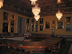 Royal Swedish Academy meeting room, site of Nobel Prize announcements, Stockholm, Sweden