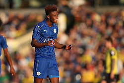 Goal, Demarai Gray of Leicester City scores, Oxford United 1-1 Leicester City - Mandatory byline: Jason Brown/JMP - 19/07/2016 - FOOTBALL - Oxford, Kassam Stadium - Oxford United v Leicester City - Pre Season Friendly