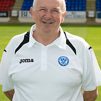 St Johnstone FC Season 2012-13 Photocall<br /> Toomy Campbell Youth Development Manager<br /> Picture by Graeme Hart.<br /> Copyright Perthshire Picture Agency<br /> Tel: 01738 623350  Mobile: 07990 594431