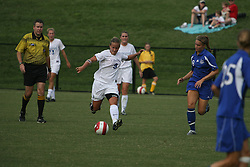 Virginia Cavaliers F Kristen Weiss (9)..The Virginia Cavaliers Women's Soccer Team fell to Seton Hall University 1-0 on September 10, 2006 at Klöckner Stadium in Charlottesville, VA...