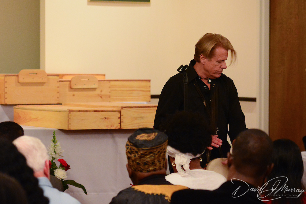Taken at the African Burying Ground Ancestral Vigil's 7pm service at New Hope Baptist Church in Portsmouth, NH, May 22, 2015