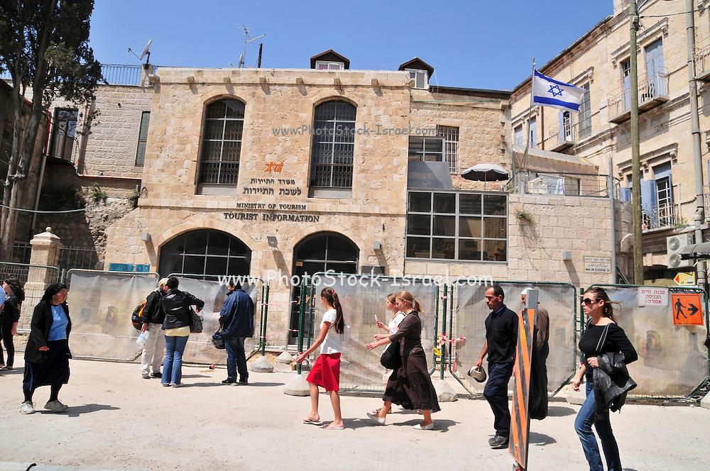 Israel, Jerusalem Old City, Tourist Information Office
