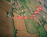 Red Arrows, In-flight practice, Lincolnshire 2004