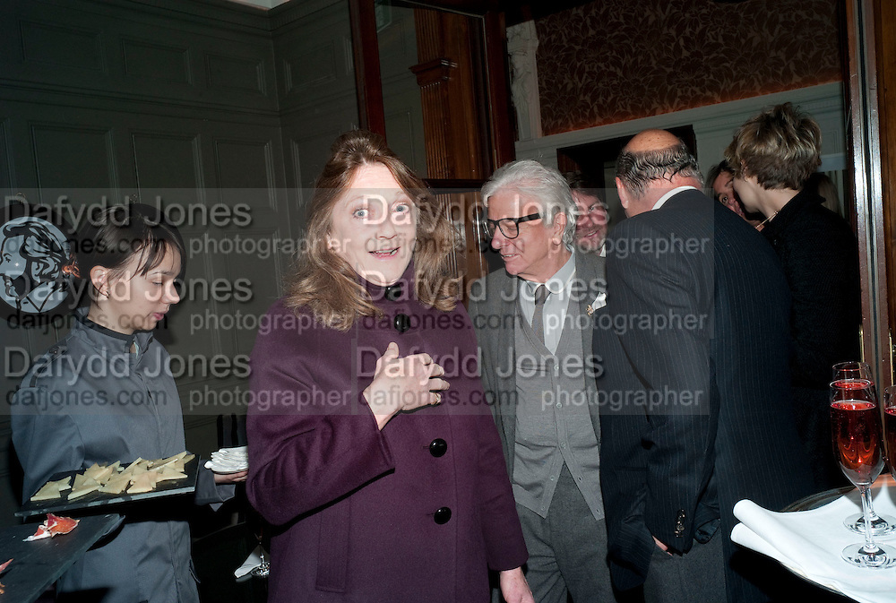 THE COUNTESS OF LICHFIELD; NICKY HASLAM, Graydon and Anna Carter host a lunch for Carolina Herrera to celebrate the ipening of her new shop on Mount St. .The Connaught. London. 20 January 2010