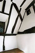oak frame in 17th century cottage