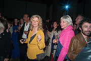 CAREY LOVELACE; HOLLY BLOCK, The Bronx Museum of the Arts, Tanya Bonakdar Gallery and the Victoria Miro Gallery host a reception and dinner in honor of Sarah Sze: Triple Point. Representing the United States of America at the 55th Biennale di Venezia with the Co  Commissioners of the  U. S. Pavilion Holly Block, Executive Director of the Bronx Museum of the arts  and Carey Lovelace. <br /> <br /> Rialto Fish market. Venice. . 29 May 2013