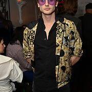 Jack McEvoy attend Nina Naustdal catwalk show SS19/20 collection by The London School of Beauty & Make-up at Bagatelle on 26 Feb 2019, London, UK.