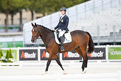Sandra Karlsson, (SWE), Vouge E - Individual Test Grade Ib Para Dressage - Alltech FEI World Equestrian Games™ 2014 - Normandy, France.<br /> © Hippo Foto Team - Jon Stroud <br /> 25/06/14