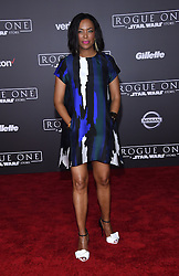 Celebrities arrive at the 'Rogue One: A Star Wars Story' movie premiere in Hollywood, California. 10 Dec 2016 Pictured: Aisha Tyler. Photo credit: American Foto Features / MEGA TheMegaAgency.com +1 888 505 6342