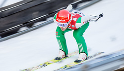 19.12.2014, Nordische Arena, Ramsau, AUT, FIS Nordische Kombination Weltcup, Skisprung, Training, im Bild Tobias Haug (GER) // during Ski Jumping of FIS Nordic Combined World Cup, at the Nordic Arena in Ramsau, Austria on 2014/12/19. EXPA Pictures © 2014, EXPA/ JFK