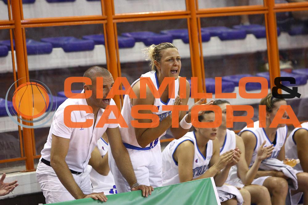 DESCRIZIONE : Pescara Giochi del Mediterraneo 2009 Mediterranean Games Italia Serbia  Italy  Serbia Final Women<br /> GIOCATORE : Roberta Meneghel<br /> SQUADRA : Italia Italy<br /> EVENTO : Pescara Giochi del Mediterraneo 2009<br /> GARA : Italia Serbia  Italy  Serbia<br /> DATA : 02/07/2009<br /> CATEGORIA : esultanza<br /> SPORT : Pallacanestro<br /> AUTORE : Agenzia Ciamillo-Castoria/C.De Massis