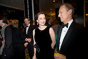 Kristen Scott Thomas; Duncan Kenworthy. The London Critics' Circle Film Awards 2009 in aid of the NSNCC. Grosvenor House Hotel . Park Lane. London. 4 February 2009 *** Local Caption *** -DO NOT ARCHIVE -Copyright Photograph by Dafydd Jones. 248 Clapham Rd. London SW9 0PZ. Tel 0207 820 0771. www.dafjones.com<br /> Kristen Scott Thomas; Duncan Kenworthy. The London Critics' Circle Film Awards 2009 in aid of the NSNCC. Grosvenor House Hotel . Park Lane. London. 4 February 2009