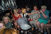 MISS JULIA; MIKA; SCOTTY; SAMI; The Premiere of DD perfume by Agent Provocateur with a DD Fashion Show. Dolce. Air St. London. 25 September 2008 *** Local Caption *** -DO NOT ARCHIVE-© Copyright Photograph by Dafydd Jones. 248 Clapham Rd. London SW9 0PZ. Tel 0207 820 0771. www.dafjones.com.